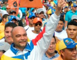 """Julio Montoya: """"Seguiremos en la lucha de una Venezuela libre y democrática"""""""