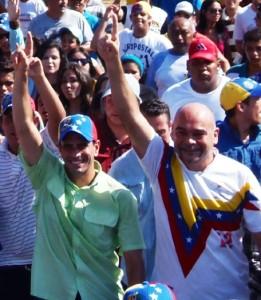 Capriles en San Francisco: los demócratas se expresan votando