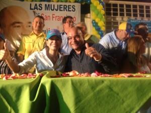 """Maria Corina Machado """"El Cambio con Julio Montoya va"""""""
