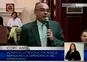 Intervención del Diputado Julio Montoya en la Asamblea Nacional