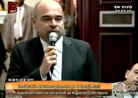 Julio Montoya sobre el caso Aponte Aponte